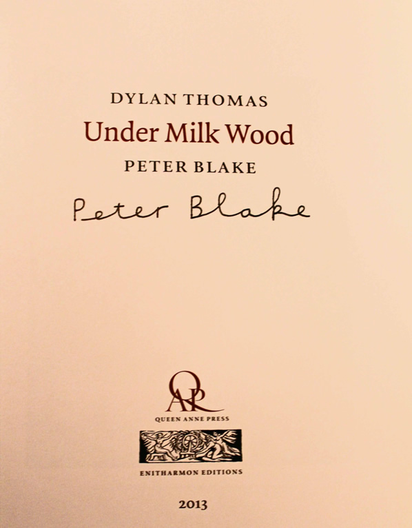 Under Milk Wood, Peter Blake